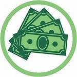 Money Circle Clipart Pay Transparent Needs Service