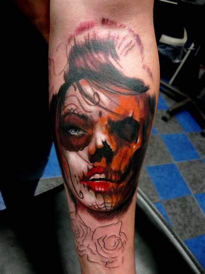 Tattoo Adam Skull Trash Polka Tattoos Sugar