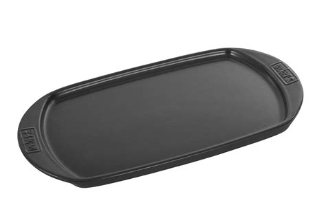 appareil menager cuisine plancha wok pour barbecue weber plancha ceramique 6465