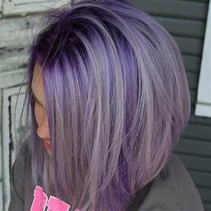 25 Beautiful Lavender Hair Color Ideas | Lavender hair ...