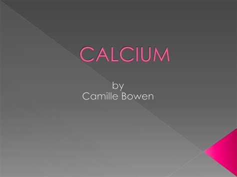 ppt calcium powerpoint presentation id 2108871