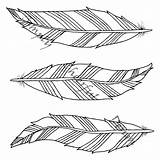 Coloring Feather Feathers Printable Aztec Adult Adults Tangle sketch template