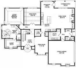 3 bedroom 3 bath house plans 653906 beautiful 4 bedroom 3 5 bath house plan with views of the backyard house plans