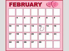 Kalender Roze Februari · Gratis afbeelding op Pixabay