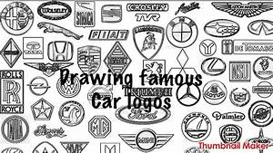 Drawing Famous Car Logos