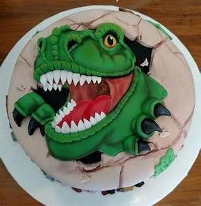 T-Rex Dinosaur - CakeCentral com
