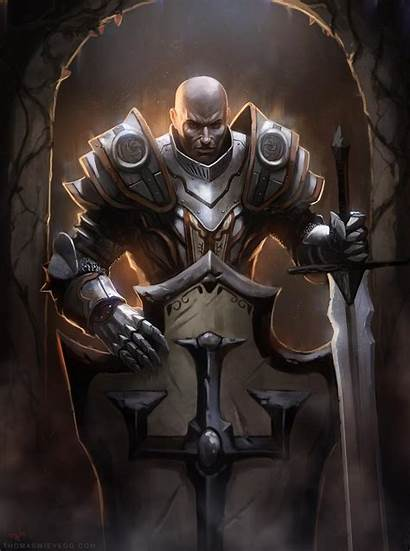 Crusader Paladin Diablo Deviantart Thomaswievegg Male Fantasy