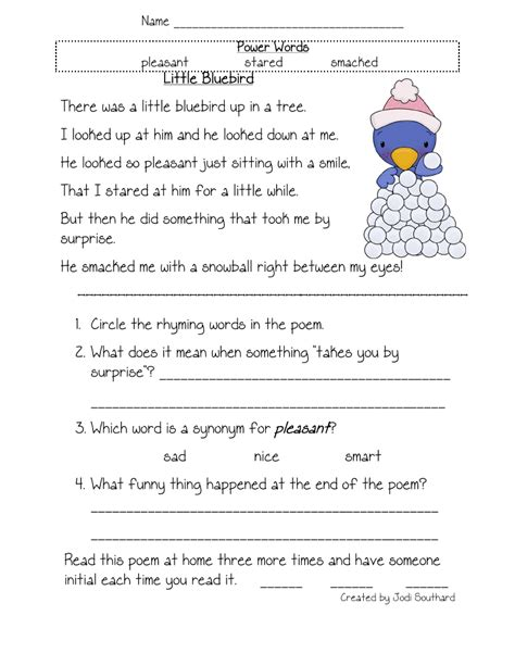 free printable reading comprehension worksheets first grade free printable reading comprehension worksheets for