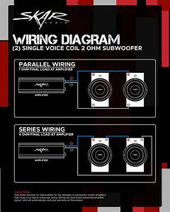 Single Voice Coil Subwoofer Wiring Guides