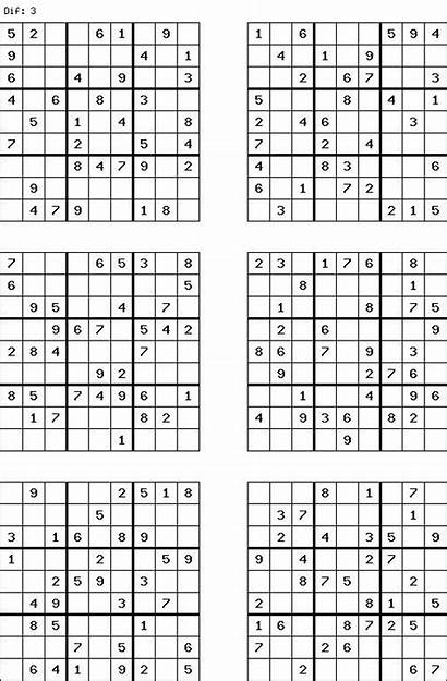 Sudoku Puzzles Printable Grid Word 9x9 Games