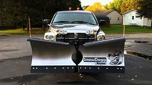 Snowdogg V-blade Snow Plow By Buyers