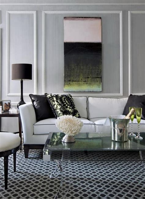 A living room is often the coziest space in the house where you can gather with your family and friends, and every designer or just owner tries to white bricks easily fit many decor styles: Creative Living Room Perspective Interior Design Ideas by James Rixner   homecod