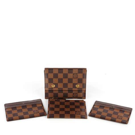 louis vuitton damier ebene portefeuille compact modulable wallet 125551