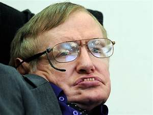 'I'm an... Stephen Hawking