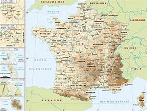 Carte Du Monde Metallique : carte france continent union europ enne europe ~ Teatrodelosmanantiales.com Idées de Décoration