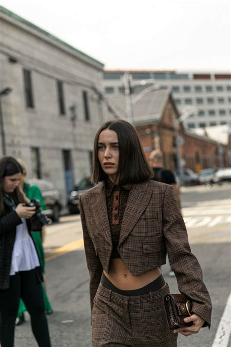 263 of the Best Street Style Looks From New York Fashion ...