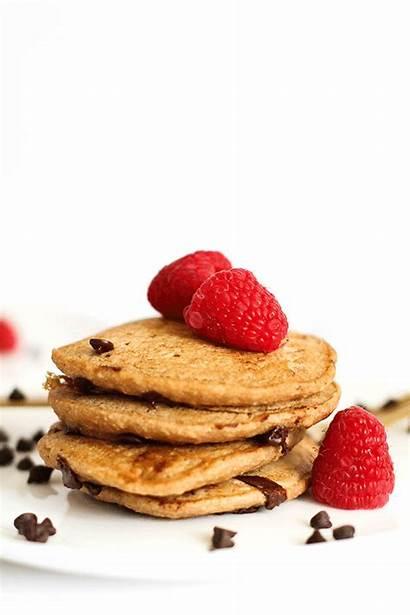 Pancakes Chocolate Vegan Chip Gluten Perfect Fitness