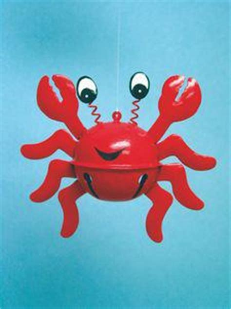 Jingle Bell Crab Ornament