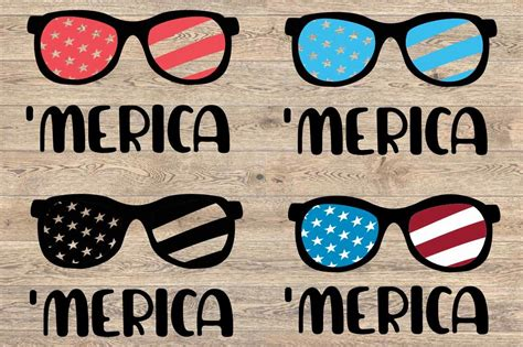 Distressed sunglasses, usa heart, american flag glasses. Merica SVG flag sunglasses svg 4th of July Svg 92SV By ...