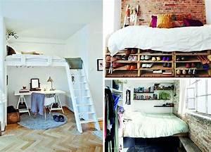 Aménagement Petite Chambre Ado : idee amenagement petite chambre adulte ~ Teatrodelosmanantiales.com Idées de Décoration