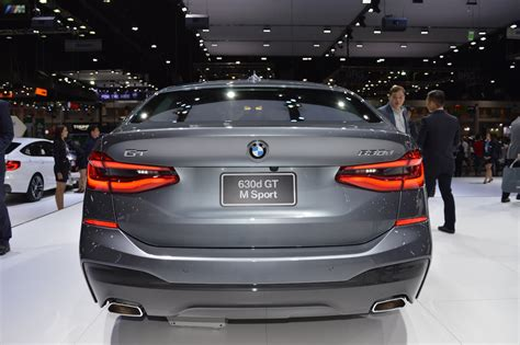 Modifikasi Bmw 6 Series Gt by Bmw 6 Series Gt Rear At 2017 Thai Motor Expo