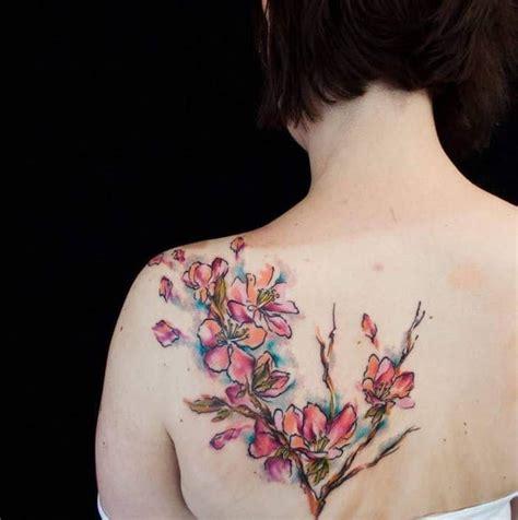 46 Coole Ruecken Tattoos Fuer Frauen by 1001 Coole Und Effektvolle Kirschbl 252 Ten Ideen