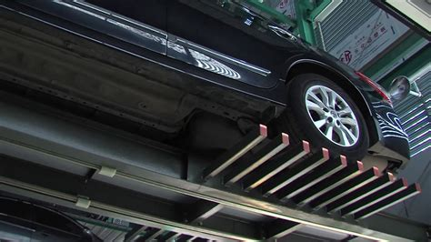 Comb Type Fully Automatic Car Parking System