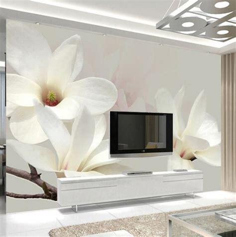 custom photo mural wallpaper modern fashion lily flower