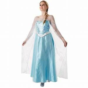Deguisement Princesse Disney Adulte : d guisement elsa reine des neiges adulte disney ~ Mglfilm.com Idées de Décoration