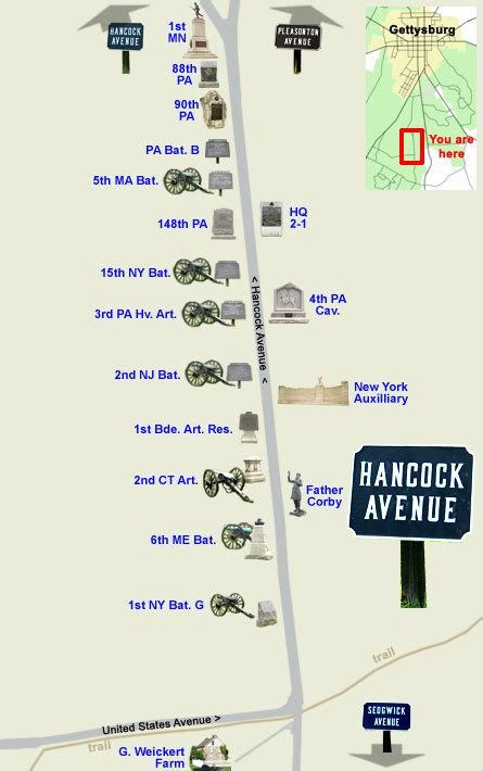 map  hancock avenue part