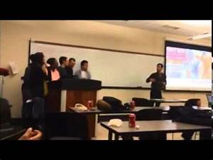 This is how i begin a group presentation in class - YouTube