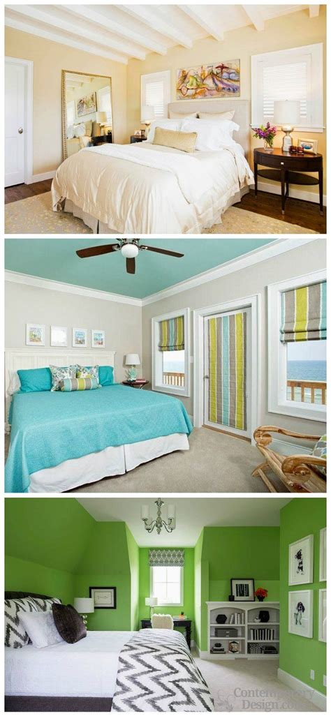wall colour combination  small bedroom   room