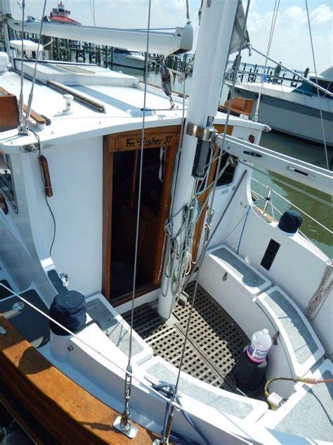 Fisher 37 (11м), 6 гостей, 2005 г. 1976 Used Fairways Marine Fisher 37 Motor Sailor ...