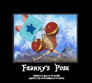 One Piece Franky Super Pose