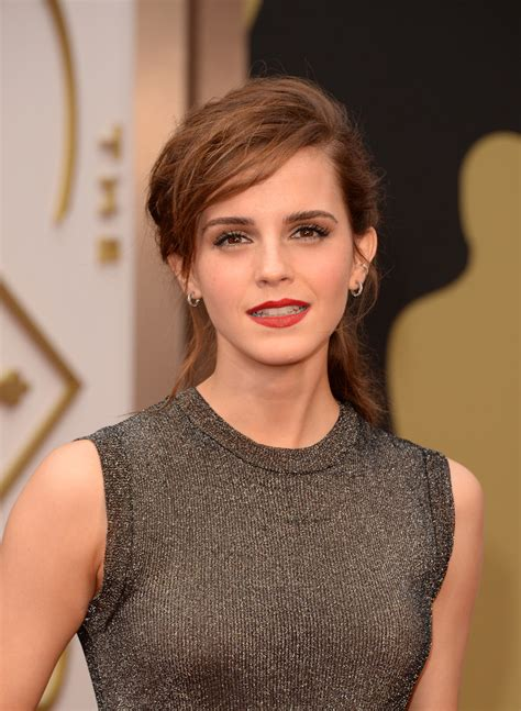 Emma Watson Arrivals The Annual Academy Awards