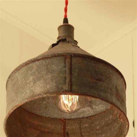 reserved  jacquidowd rustic lighting  vintage rustic funnel shade pendant kitchen