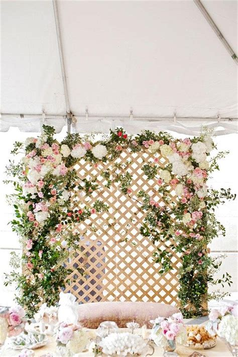 flower backdrops  weddings