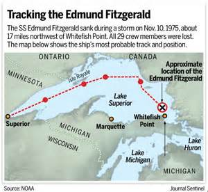 40 years after edmund fitzgerald wreck crew member s