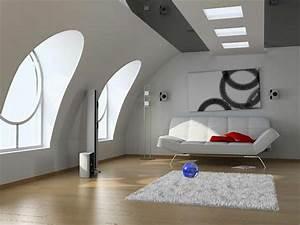 Moderne Wohnungseinrichtung Ideen : dachwohnung einrichten 30 ideen zum inspirieren ~ Markanthonyermac.com Haus und Dekorationen