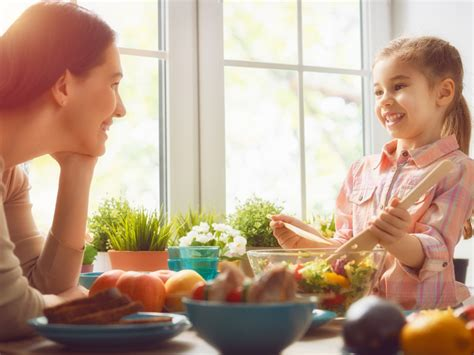 peaceful parents happy l being a better parent l 740 | MotherDaughterCookingcreditShutterstockcom