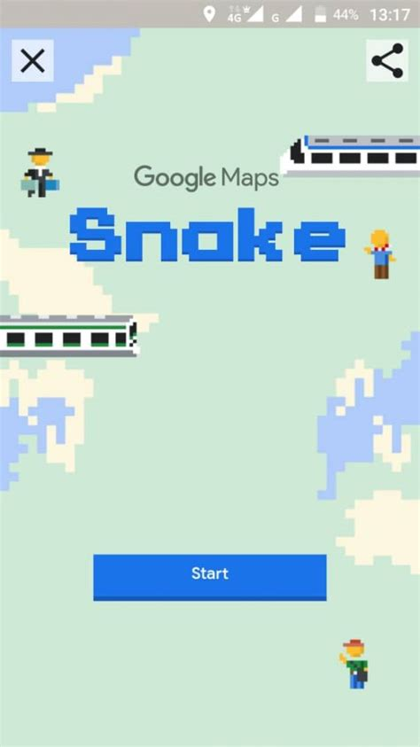 play classic snake game   google maps app