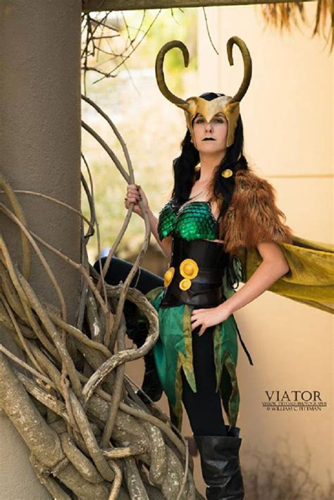 Rule 63 Loki Cosplay By Tesla Isley Cosplay