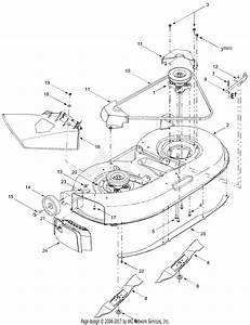 Mtd 13am662f765  2004  Parts Diagram For Deck Assembly  U0026quot F