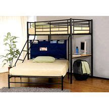 Walmart Twin Over Full Bunk Bed by Dorel Twin Over Futon Contemporary Bunk Bed Walmart Com