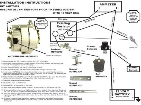 1 wire alternator wiring diagram wiring