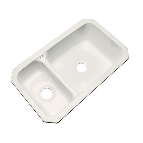 acrylic undermount kitchen sinks thermocast wyndham undermount acrylic 33 in basin 3980