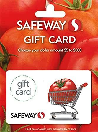 amazoncom safeway  gift card gift cards