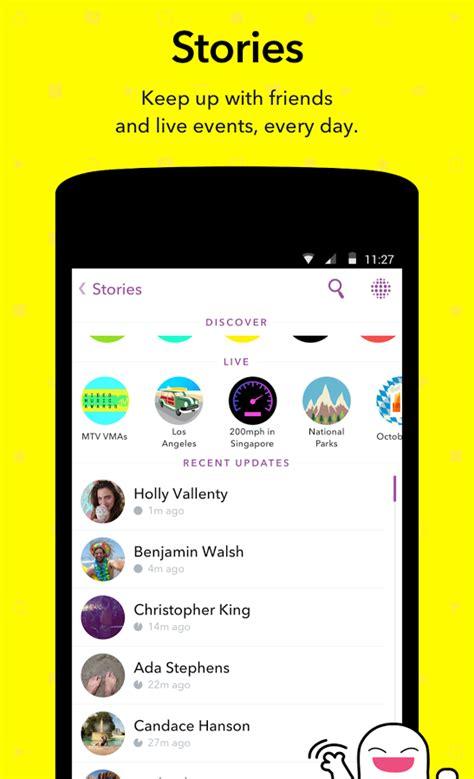 Snapchat update herunterladen samsung s7 - orbrevha