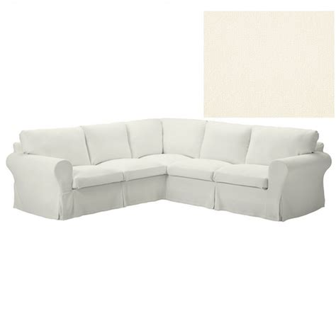ikea sectional slipcover ikea ektorp 2 2 corner sofa slipcover stenasa white