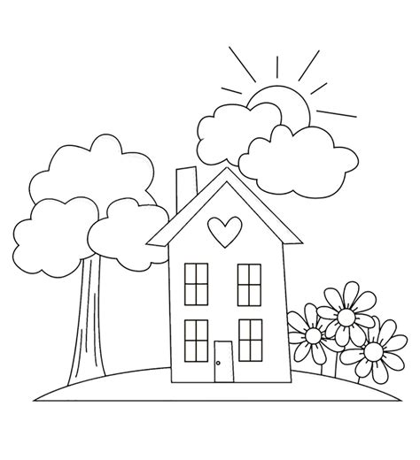 kids gardening coloring pages coloring home